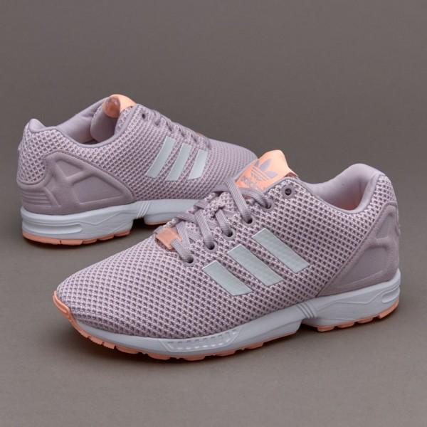 Adidas Damen ZX Flux Damen Schuhe Mauve Weiß Glow...