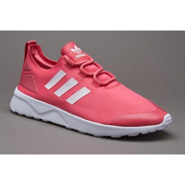 Adidas Damen ZX Flux Verve Damen Schuhe Lush rosa ...