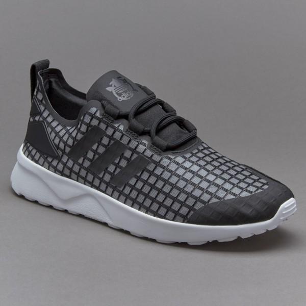 Adidas Damen ZX Flux Verve Core-Schwarz Verkaufen