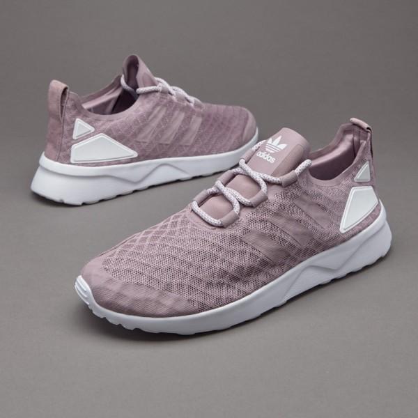 Adidas Damen ZX Flux Verve Blanch Lila Core-Weiß ...