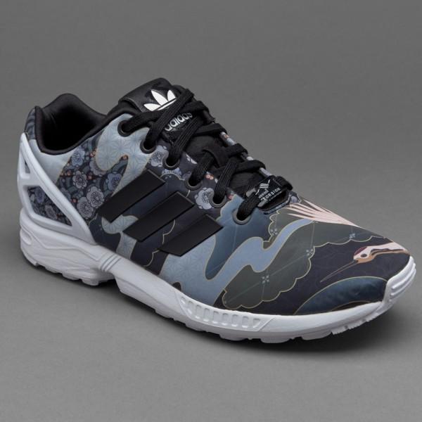 Adidas Damen ZX Flux Core-Schwarz Bequem