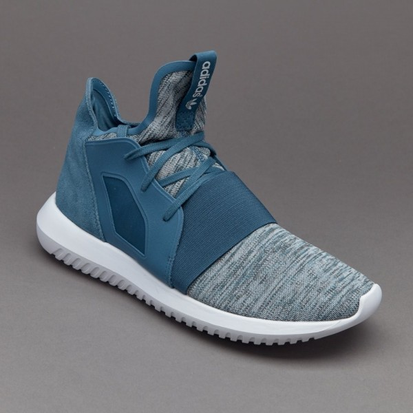 Adidas Damen Tubular Defiant Blanch Blau Core-Weiß Outlet