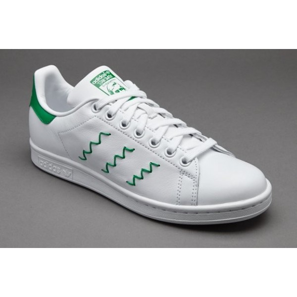 Adidas Damen Stan Smith Damenschuhe Weiß Grün On...