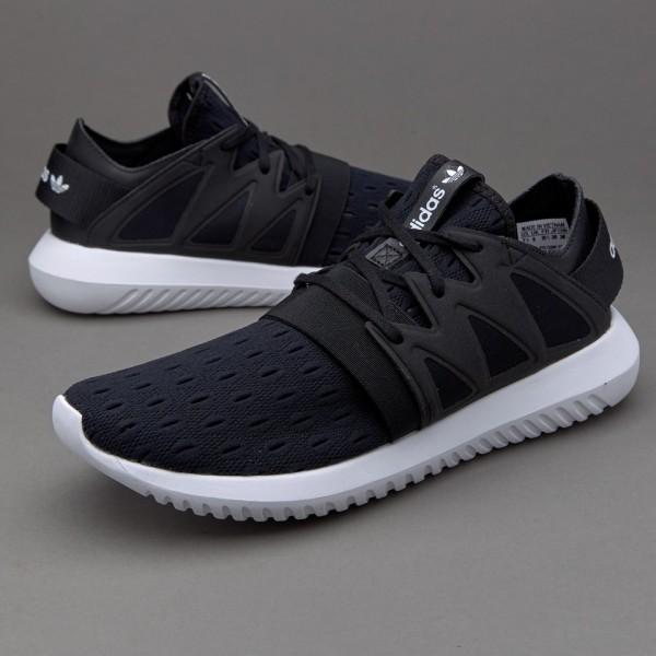 Adidas Damen Tubular Viral Kern Schwarz Billig
