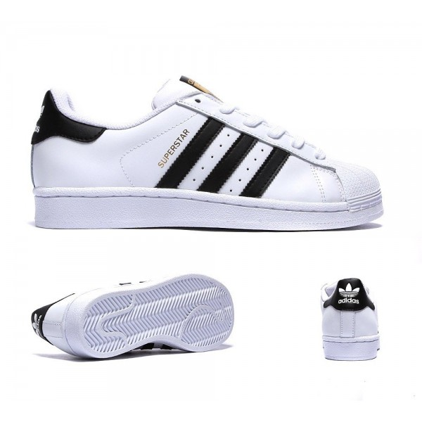 Adidas Originals Damen Superstar-Trainer Weiß und...