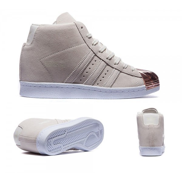 Adidas Originals Damen Superstar Up Metallzehe-Tra...