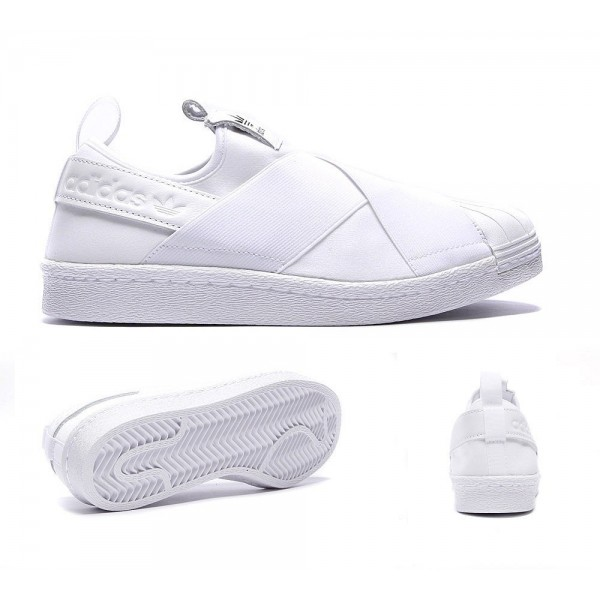 Adidas Originals Damen Superstar Slip-on-Sneaker W...