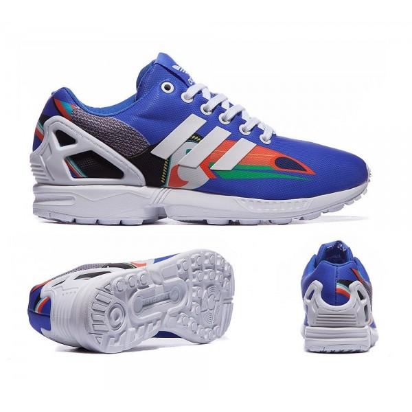 Adidas Originals Damen ZX Flux Trainer Lab Blau un...