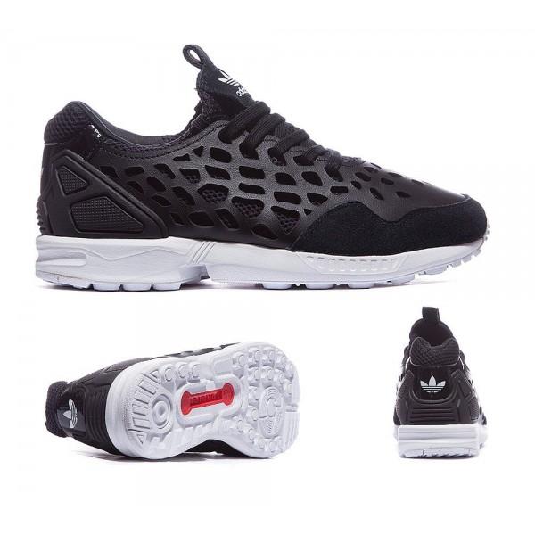 Adidas Originals Damen ZX Flux Lace Sneaker Schwarz Kaufen