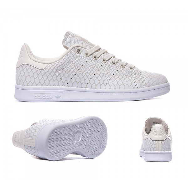 Adidas Originals Damen Stan Smith Croc Trainer Off...