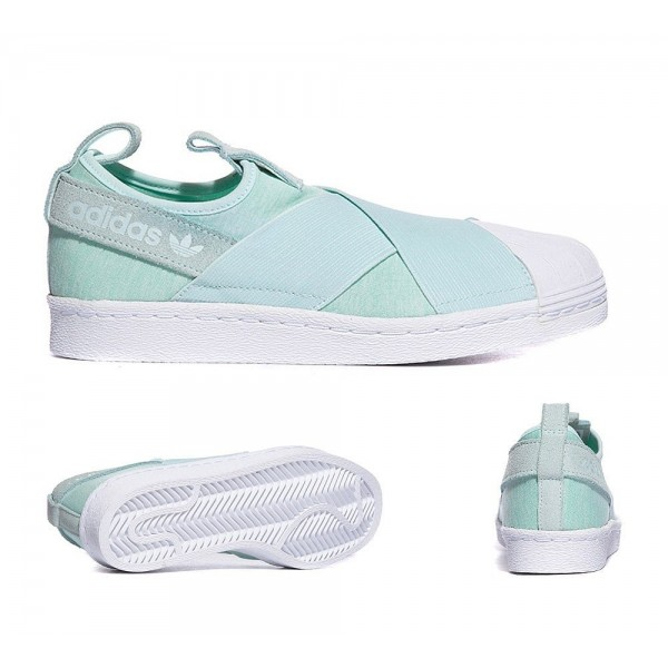Adidas Originals Damen Superstar Slip-on-Sneaker M...