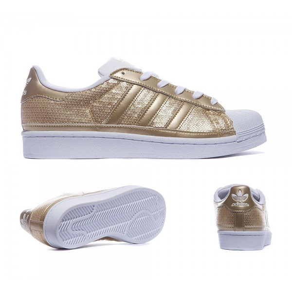 Adidas Originals Damen Superstar SequTrainers Meta...