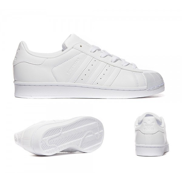 Adidas Originals Damen Superstar Glossy Toe Sneake...