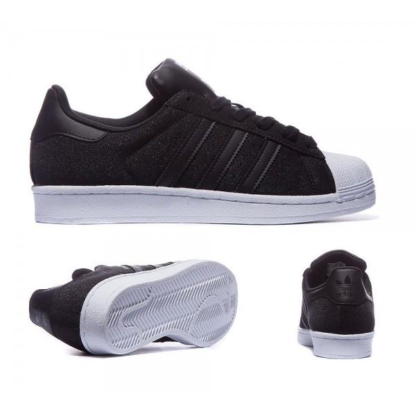 Adidas Originals Damen Superstar Glitter Sneaker S...