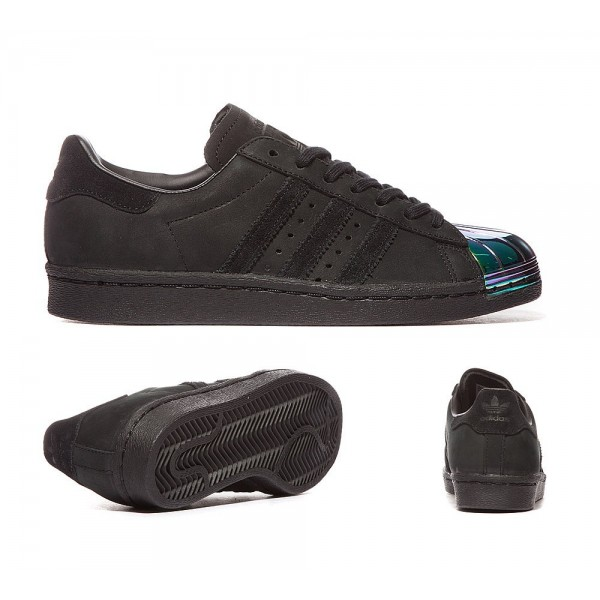 Adidas Originals Damen Superstar 80 Metal Toe Trainers Kern Schwarz Bestellen