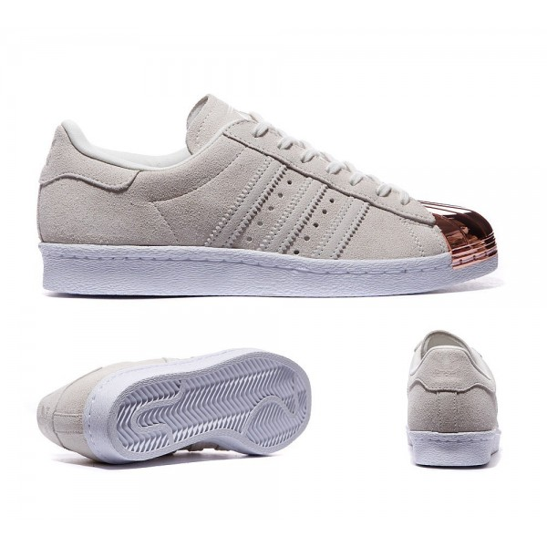 Adidas Originals Damen Superstar 80 Metal Toe Trai...
