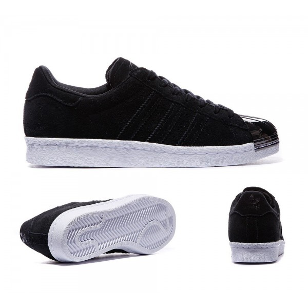 Adidas Originals Damen Superstar 80 Metal Toe Snea...
