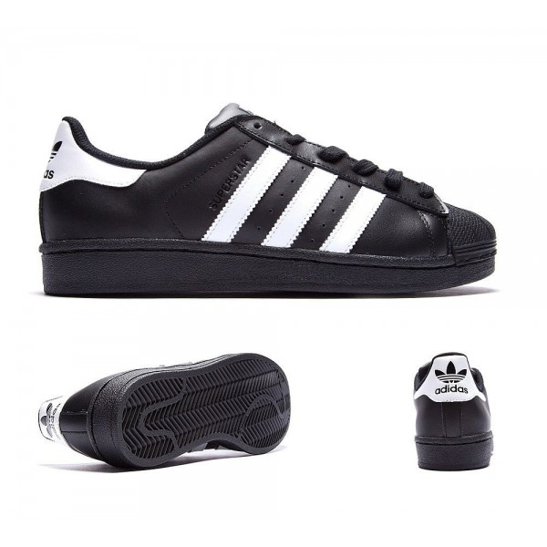 Adidas Originals Damen Superstar Foundation Trainer Schwarzweiss Sale