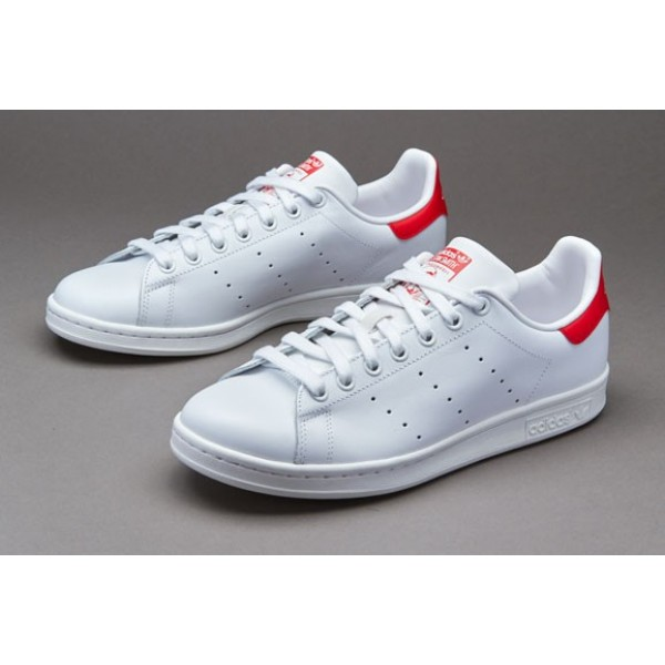 Adidas Stan Smith Lauf Weiß Collegiate Red Online...