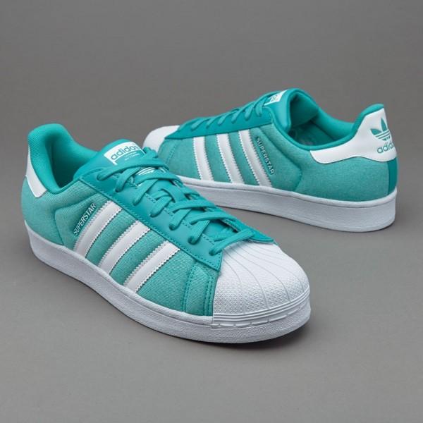 Adidas Superstar Sommer Jersey Shock Grün Online ...