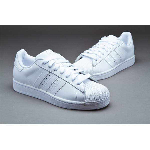 Adidas Superstar II Herren Select Schuhe Weiß Out...