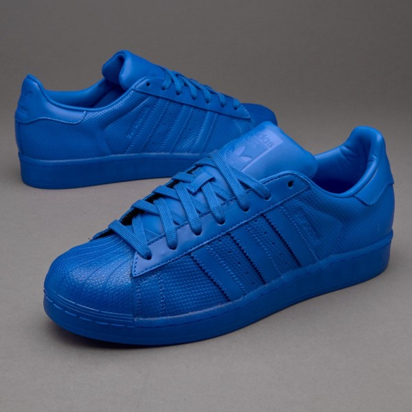 Adidas Superstar Adicolor Blau Sale