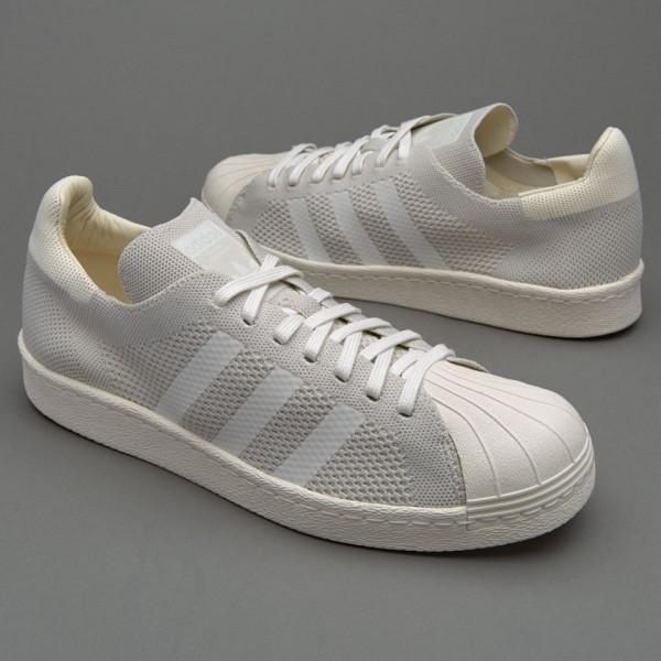 Adidas Superstar 80S Primeknit Herren-Schuhe Chalk...