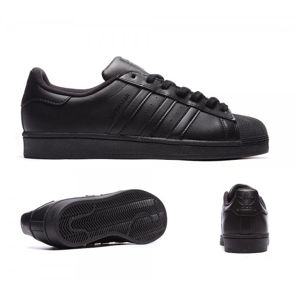 Adidas Originals Superstar Foundation Sneaker Schw...