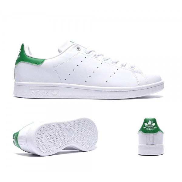 Adidas Originals Stan Smith Trainer Weiß und Fair...