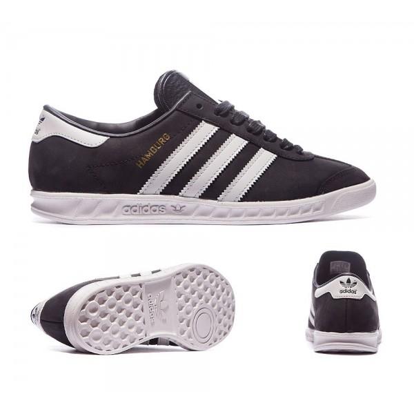 Adidas Originals Für Frauen Hamburg Sneaker Schwarz Grau und Gold Günstig online