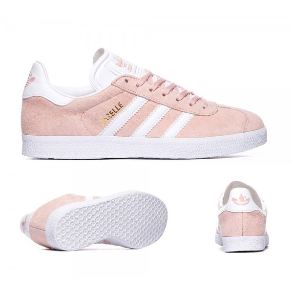 Adidas Originals Damen Gazelle Trainer Vapor Pink ...