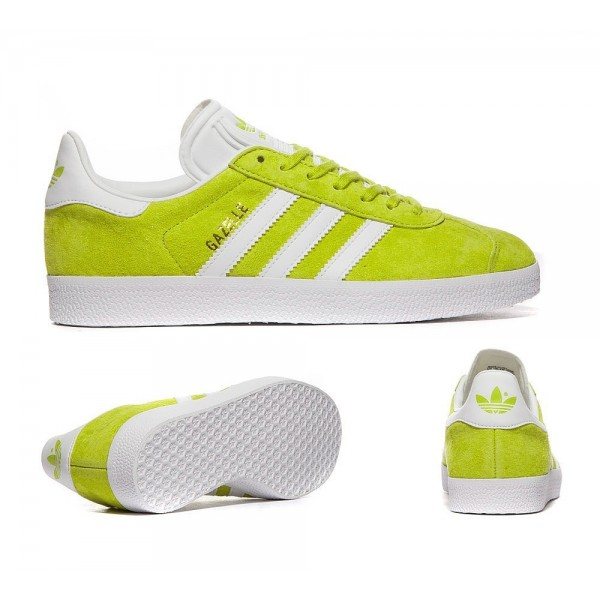 Adidas Originals Damen Gazelle Trainer Unity Lime Sale