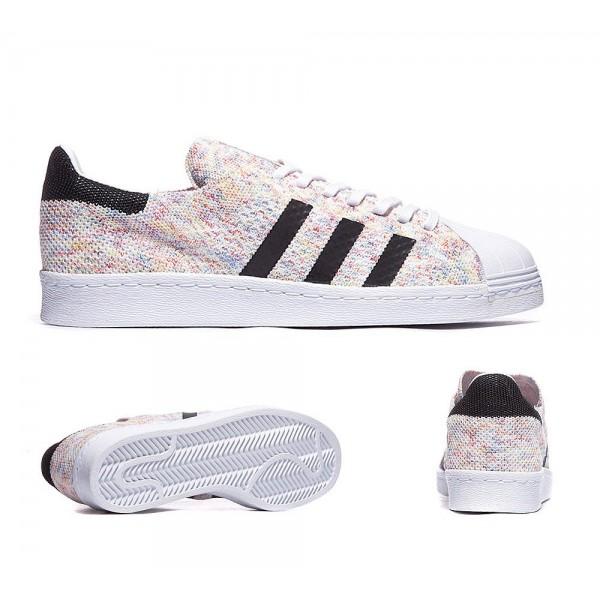 Adidas Originals Superstar 80s Primeknit Trainer W...