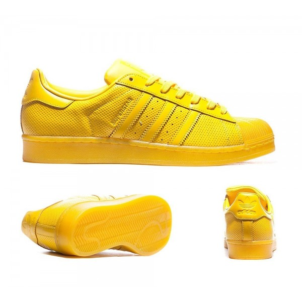 Adidas Originals Superstar Adicolor Trainer Yellow...