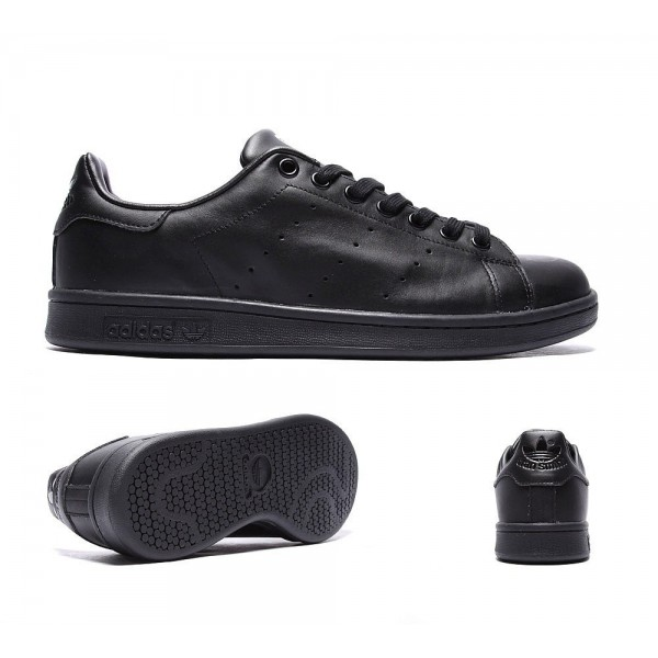 Adidas Originals Stan Smith Trainer Schwarz Billig kaufen