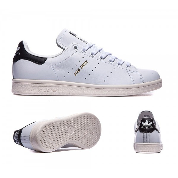 Adidas Originals Stan Smith Gold-Trainer Weiß und...