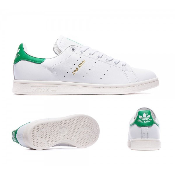 Adidas Originals Stan Smith Gold-Sneaker Weiß und...