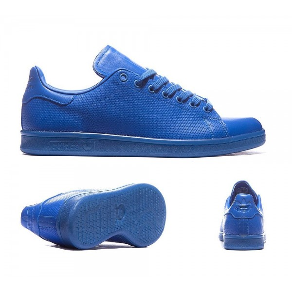 Adidas Originals Stan Smith Adicolor Trainer Blau ...