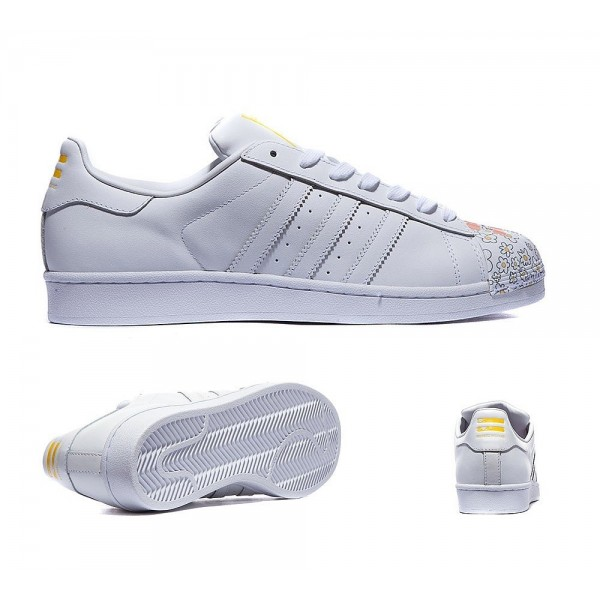 Adidas Originals Pharrell Superstar Supershell Sneaker Weiß Günstig online