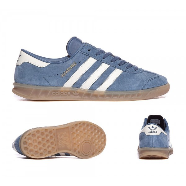 Adidas Originals Für Frauen Hamburg Trainer Tech Ink and White Outlet