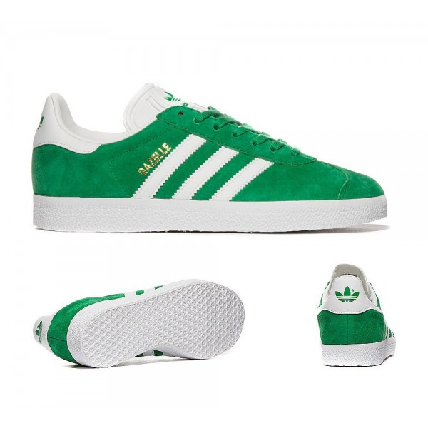 Adidas Originals Damen Gazelle Trainer Grün und W...