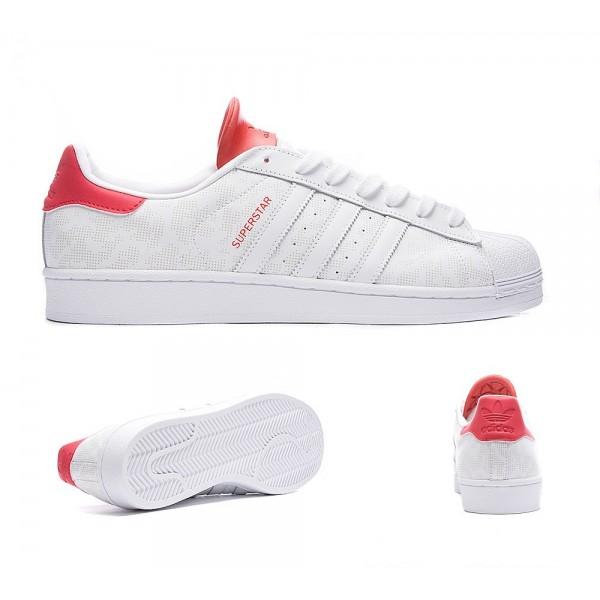 Adidas Originals Superstar Camo 15 Trainer Weiß und Rot Online shop