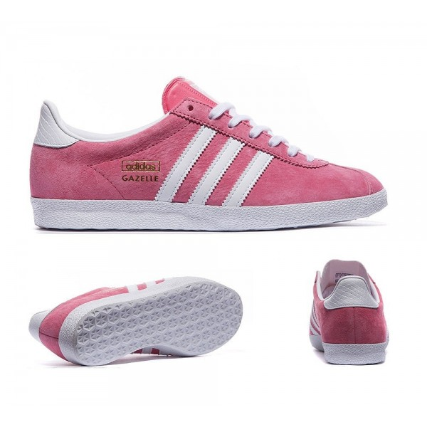 Adidas Originals Damen Gazelle OG Trainer Lush Ros...