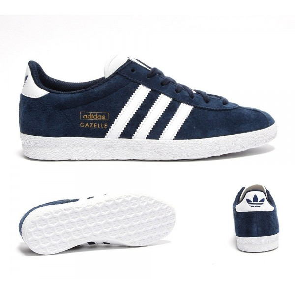 Adidas Originals Damen Gazelle OG Trainer Dark Ind...