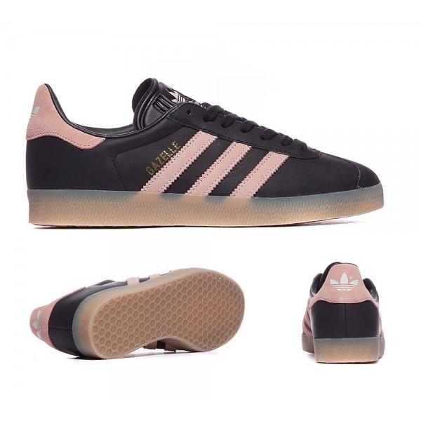 Adidas Originals Damen Gazelle Sneaker Schwarz Vapor Rosa und Gum Kaufen sie online