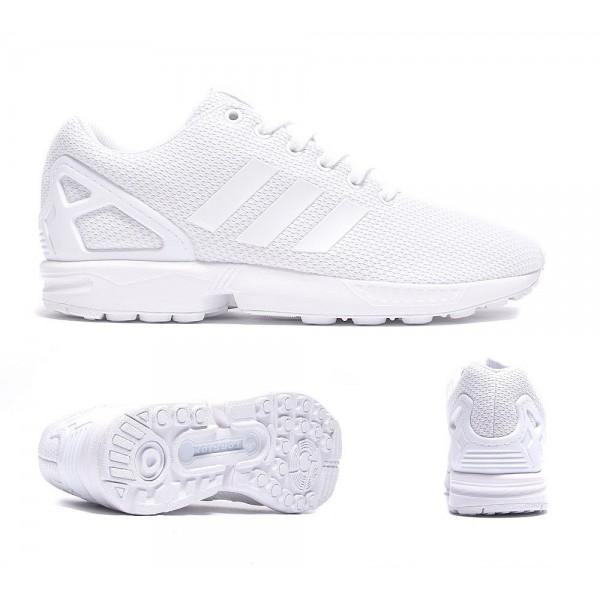 Adidas Originals ZX Flux Sneaker Weiß und Off White Bequem