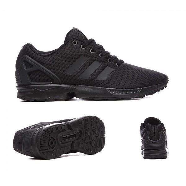 Adidas Originals ZX Flux Sneaker Schwarz und Dunkelgrau Angebote