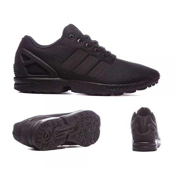 Adidas Originals ZX Flux Sneaker Schwarz und Blau Marken