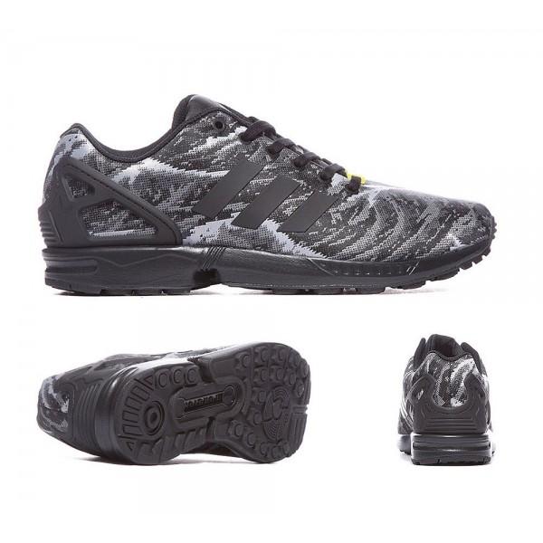 Adidas Originals ZX Flux Weave Sneaker Schwarz und Gelb Online shop