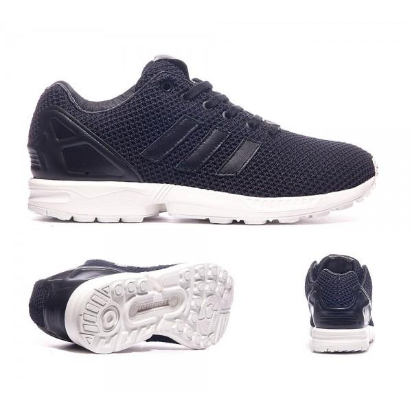 Adidas Originals ZX Flux Trainer Schwarzweiss Onli...